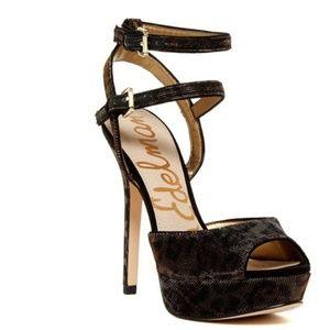 Sam Edelman Nadine Animal Print Platform Sandals